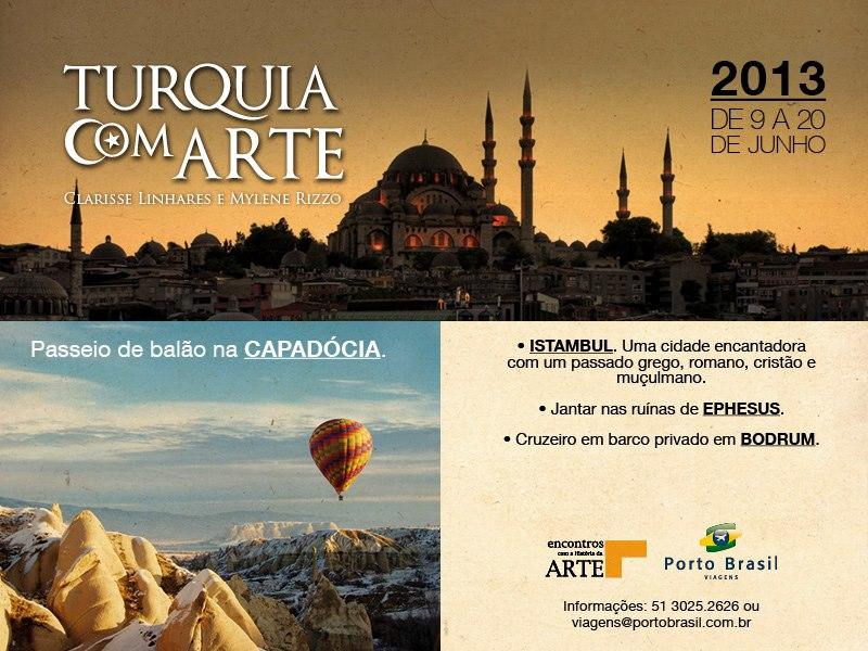 Turquia com Arte 2013