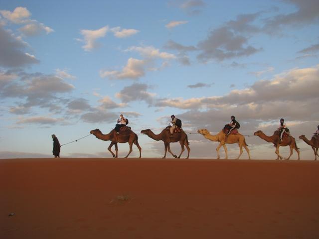 Marrocos -Batismo no deserto