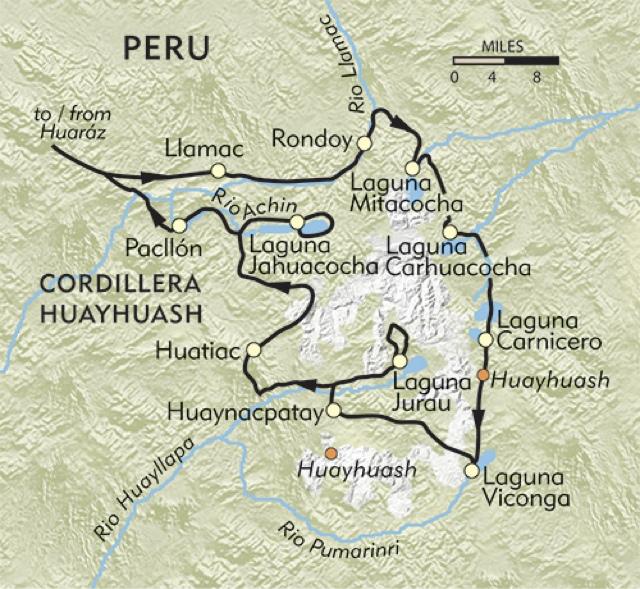 mapa huayhuash