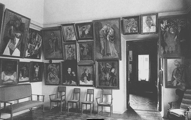 Sala Picasso  na casa milionário russo