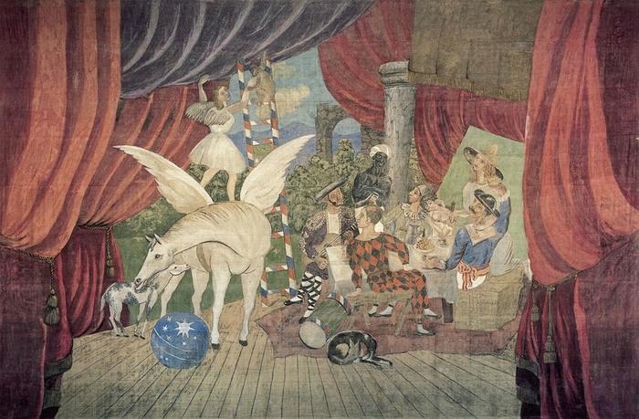 Ballet Parade , Pablo Picasso
