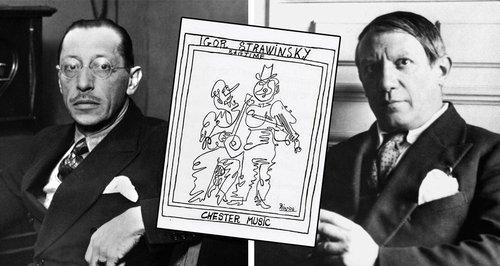 Picasso e Stravinsky