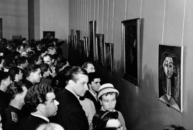 Exposição de Picasso na Rússia
