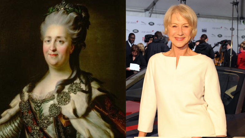 LOS ANGELES, CA - FEBRUARY 28:  Dame Helen Mirren attends the GREAT British Film Reception Presented by Jaguar Land Rover and Virgin Atlantic at The British Residence in Los Angeles on February 28, 2014.  (Photo by Angela Weiss/Getty Images for Jaguar Land Rover)
