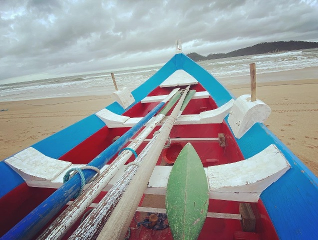 Barcos pesqueiros Campeche
