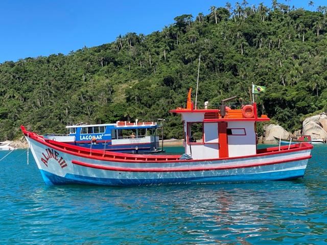 Barcos no Campeche